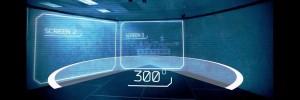 cinema tir pour police et miliaire V-300 3d