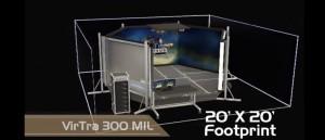 Simulateur de tir virtuel V-300