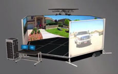 Simulateur de tir  v300 3d