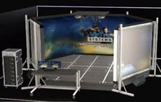 Simulateur de tir v300 view